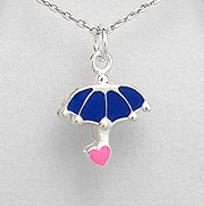 Bilde av Sølvanheng barn, Blå paraply