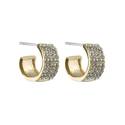 Bilde av Carrie Small Ring Earring Gold