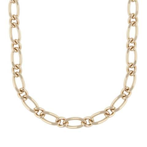 Bilde av Anchor Linked 42 Chain Necklace Gold