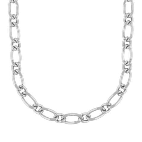 Bilde av Anchor Linked 42 Chain Necklace Silver