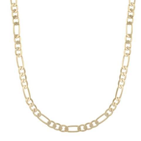 Bilde av Anchor Chain 42 Necklace Gold