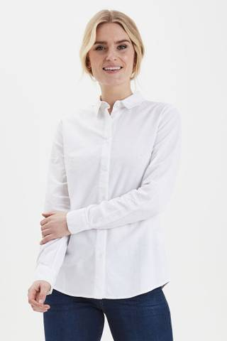 Bilde av Frzaoxford 1 Shirt Plain Blue