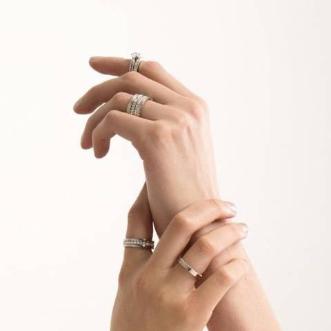 Bilde av Blizz Small Ring Silver