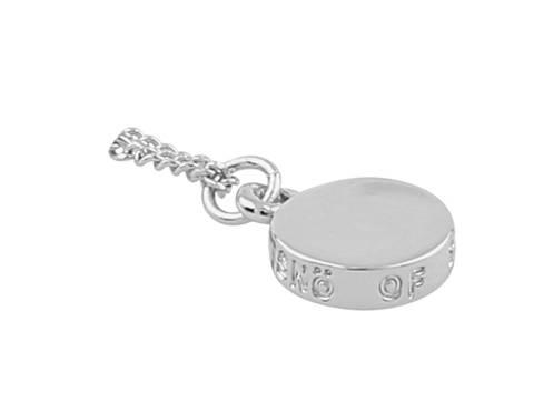 Bilde av Bridget 60 Pendant Necklace Silver