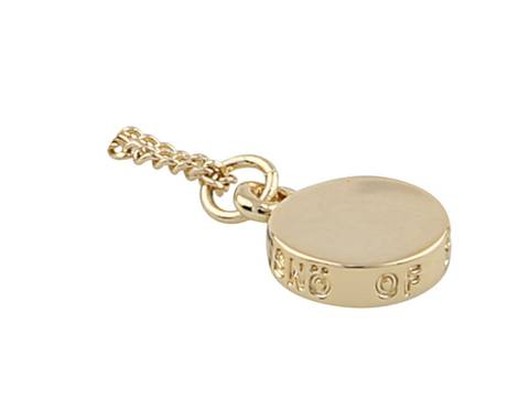 Bilde av Bridget 60 Pendant Necklace Gold