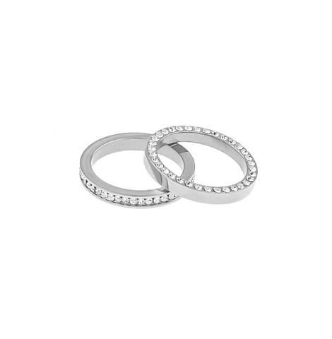 Bilde av Trixie Double Ring Silver