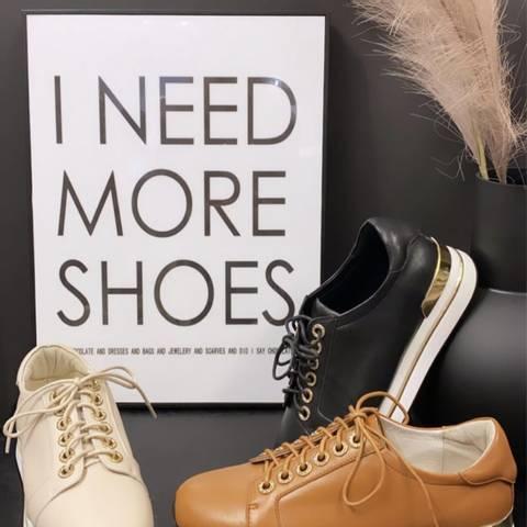 Bilde av Bibba Cognac Sneakers