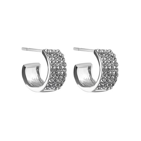Bilde av Carrie Small Ring Earring Silver
