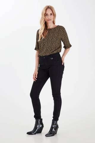 Bilde av Pzemma Jeans Skinny Leg Stay Black