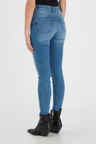 Bilde av Pzemma Jeans Skinny Leg Light Blue