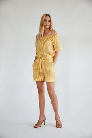 Bilde av Fqscat Shorts Yellow