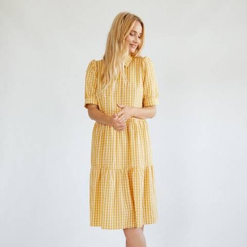 Bilde av Fqscat Dress Yellow