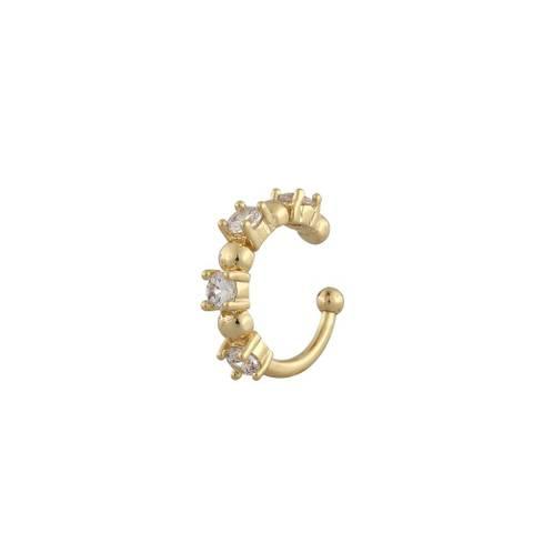 Bilde av Camille Stone Cuff Earring Gold
