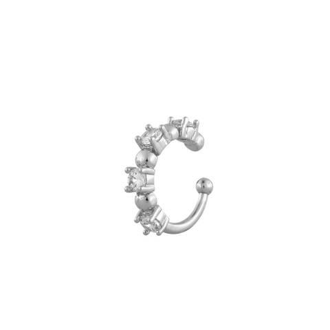Bilde av Camille Stone Cuff Earring Silver