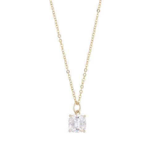 Bilde av Camille 50 Stone Pendant 50 Necklace Gold