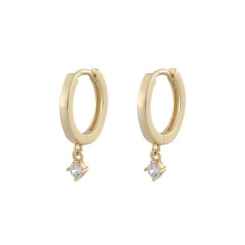 Bilde av Camille Small Ring Earring Gold