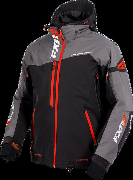 FXR M Renegade X Jacket Black/Charcoal/Red