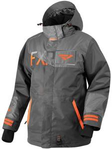Bilde av FXR M Squadron Jacket Char/Grey/Orange