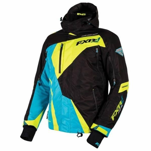 FXR Mission X Jacket Aqua/Black/Hi-Vis