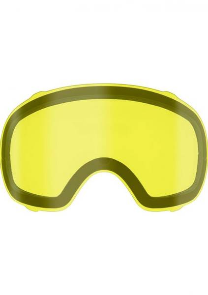 FXR Summit Goggle Dual lens, Yellow, OS