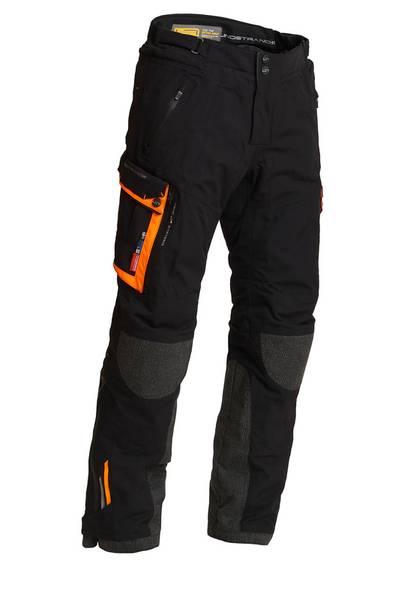 Lindstrands Bukse Sunne Svart / oransje