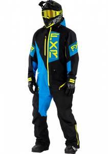 Bilde av FXR M Recruit Lite Monosuit Black/Blue/Hi Vis
