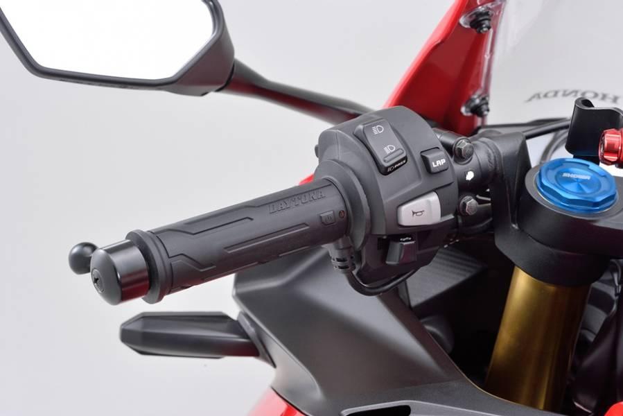 DAYTONA LINE varmeholker til std 22,2mm styre