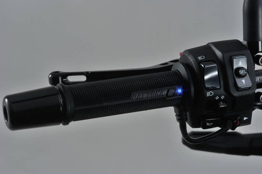 DAYTONA SLIM varmeholker til std 22,2mm styre