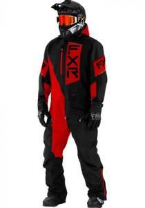 Bilde av FXR M Recruit Monosuit Black/Red