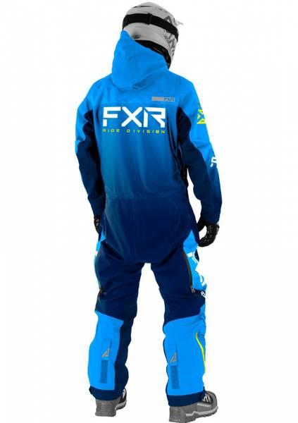 FXR M Helium Lite Monosuit 21 Navy Blue Fade/ Fade HiVis