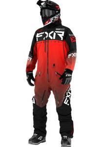 Bilde av FXR M Helium Lite Monosuit 21 Red/Fade black