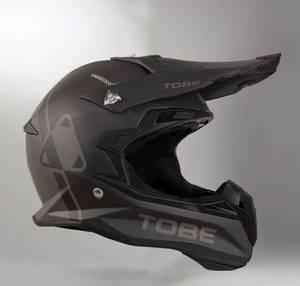 Bilde av TOBE Terminator hjelm Jet Black / Dark Ink